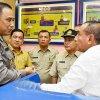 Gubernur Sumatera Utara Edy Rahmayadi saat mengadakan inspeksi mendadak (Sidak) ke Kantor Samsat Medan Utara Jalan Putri Hijau Medan