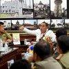 Gubernur Sumatera Utara Edy Rahmayadi memimpin rapat koordinasi dengan seluruh Kepala Satuan Polisi Pamong Praja se-Sumut di Ruang Rapat Lantai 10, Kantor Gubernur Jl P. Diponegoro Nomor 30 Medan