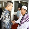 Wakil Gubernur Sumatera Utara Musa Rajekshah saat menggelar Halalbihalal di Rumah Dinas Wagub Sumut di Jalan Tengku Daud, Medan