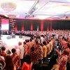 Gubernur Sumatera Utara Edy Rahmayadi bersama para Gubernur Negara Republik Indonesia ketika menghadiri acara MUSRENBANGNAS 2019 di Hotel Shangrilla Jakarta Pusat