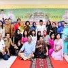 Hari ke dua Halalbihalal, Ribuan warga Sumatera Utara (Sumut) dari berbagai kalangan mengunjungi Rumah Dinas Gubernur Sumut, Jalan Sudirman 41, Medan