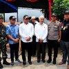 Gubernur Sumatera Utara Edy Rahmayadi ketika meninjau ke sejumlah Tempat Pemungutan Suara (TPS) di Kota Binjai, diantaranya TPS 20 dan 28 Kelurahan Bakti Karya Kecamatan Binjai Utara
