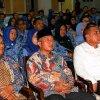 Gubernur Sumatera Utara Edy Rahmayadi ketika hadiri kegiatan Sosialisasi Zakat bersama Badan Amil Zakat Nasional (Baznas) Sumut di Aula Raja Inal Siregar (RIS) Kantor Gubernur Lantai 2