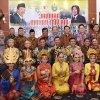 Gubernur Sumatera Utara Dr. Ir. HT. Erry Nuradi MSi saat menerima Tim Pengkaji Lembaga Ketahanan Nasional Republik Indonesia (Lemhanas RI) pada jamuan makan malam di Rumah Dinas Gubernur Jalan Sudirman No. 41 Medan