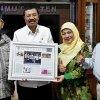 Gubsu Tengku Erry Nuradi Menerima Kunjungan Silaturrahmi Ketua Umum BMPS Drs. Suparno dan menerima Penganugerahan BMPS  Award