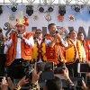 Gubernur Sumatera Utara, Edy Rahmayadi saat menghadiri sekaligus membuka Ya'ahowu Nias Festival 2018 yang diselenggarakan di Lapangan Ororusa, Kecamatan Teluk Dalam, Kabupaten Nias Selatan
