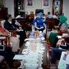 Wagubsu Nurhajizah Marpaung melaksanakan Pertemuan dengan PT. Inalum dan PT. Pertamina (Persero) di ruang kerja Wagubsu Lantai. IX Kantor Gubsu, Medan