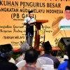 Gubernur Sumatera Utara (Gubsu) Edy Rahmayadi menghadiri pengukuhan Pengurus Besar Gerakan Angkatan Muda Melayu Indonesia (PB GAMI) di Ballroom Hotel JW Marriot Jalan Putri Hijau Medan