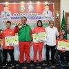 Gubernur Sumatera Utara Edy Rahmayadi serahkan tali asih Rp 2,5 Miliar kepada 10 atlet berprestasi di Asian Para Games 2018 Jakarta