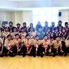 Gubernur Sumatera Utara Edy Rahmayadi foto bersama Kontingen Pramuka Santri Provinsi Sumatera Utara yang akan megikuti Perkemahan Pramuka Santri Nusantara (PPSN) V di Provinsi Jambi Tahun 2018