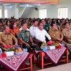 Gubernur Sumatera Utara, Edy Rahmayadi menghadiri acara tatap muka dengan seluruh Kepala Desa, Lurah, dan Camat se Kabupaten Nias, Nias Barat, Nias Utara, dan Kota Gunungsitoli di Gedung Serbaguna, Kota Gunungsitoli