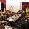 Gubsu Tengku Erry Nuradi menerima audiensi Koordinator Guru Honorer K2 Sumatera Utara di rumah dinas Gubernur, Jalan Jendral Sudirman, Medan
