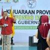 Kepala Dinas Pemuda dan Olahraga Provinsi Sumatera Utara Baharuddin Siagian mewakili Gubernur Sumatera Utara menutup Kejuaraan Provinsi Taekwondo Indonesia Piala Gubernur Sumut 2018 di Gelanggang Olah Raga (GOR) Cemara