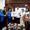Gubsu Dr.Ir HT. Erry Nuradi menyambut gembira rencana Parfi Sumatera Utara membuat film tentang Catatan Soekarno di Tanah Karo dan Danau Toba, saat menerima Audiensi Pengurus Parfi Sumut di ruang kerja Gubsu, Medan