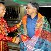 Pj Gubernur Sumatera Utara Drs Eko Subowo MBA ketika menerima kunjungan kerja Duta Besar (Dubes) India untuk Indonesia Pradeep Kumar Rawat bersama rombongan, dalam rangka Indonesia-India Bilateral Project on Indo-Pacific di Aula Raja Inal Siregar