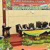 Sekretaris Daerah Provinsi Sumatera Utara (Sekdaprovsu) Dr Ir Hj R Sabrina MSi dalam rapat paripurna istimewa DPRD Medan tentang Hari Ulang Tahun (HUT) ke  428 Kota Medan di gedung dewan