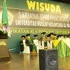 Wakil Gubernur Sumatera Utara Musa Rajekshah pada acara Wisuda Sarjana dan Pascasarjana Universitas Muslim Nusantara (UMN) Al Washliyah Angkatan 42, di Selecta Royal Ballroom Lantai 5 Medan