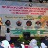 Wakil Gubernur Sumatera Utara Musa Rajekshah saat membuka Multidiciplinary International Conference on Sharia Based Applied Science and Humanities (MICASH) 2018 di Hotel Grand Mercure, Medan
