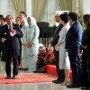 Gubsu Edy Rahmayadi saat berpidato di depan para undangan, para konsul negara-negara sahabat, unsur Forkopimda, dan para OPD, pada Resepsi Kenegaraan Peringatan HUT Ke-74 Kemerdekaan Republik Indonesia Provinsi Sumatera Utara di Rumah Dinas Gubernur